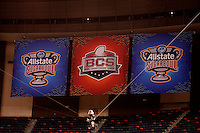 77th Annual Allstate Sugar Bowl Classic at Louisiana Superdome in New Orleans, Louisiana on January 4th, 2011.  Ohio State defeated Arkansas, 31-26.