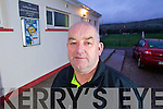 Chairman of the South Kerry Bord Diarmuid O'Sé at Dromid Pearses GAA club on Tuesday.