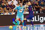 League LNFS 2017/2018.<br /> PlayOff Final-Game 4.<br /> FC Barcelona Lassa vs Movistar Inter FS: 3-3.<br /> FCB por penaltys.<br /> Bebe vs Mario Rivillos.