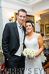 Lorraine Lynch, Tralee, daughter of Maurice and Tina Lynch, and Stephen Reidy, Tralee. son of Tom and Helen Reidy were married at St. Mary's Church, Kilflynn by Fr. Maher on 31st December 2015 with a reception at the Meadowlands Hotel