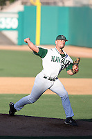 Lenny Linsky, Hawaii Rainbows, playing against Fresno State in the championship game of the Western Athletic Conference tournament at Hohokam Park, Mesa, AZ - 05/30/2010. Hawaii won, 9-6, to capture its first league championship in 18 years..Photo by:  Bill Mitchell/Four Seam Images.
