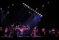 The Grateful Dead with guest Branford Marsalis in a Dark Star jam into Drums at the Nassau Coliseum, Uniondale NY, 29 March 1990