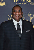 NEW YORK CITY - MAY 8:  Curt Menefee attends the Sports Emmy Awards at Jazz at Lincoln Center's Frederick P. Rose Hall in Manhattan on May 08, 2018 in New York City. (Photo by Anthony Behar/FX/PictureGroup)