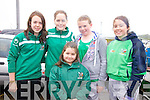 Ladies from Cromane at the Cahersiveen Regatta in Cahersiveen on Sunday front; Severine Masson, back l-r; (U14 crew)Gwenaelle Masson, Tara O'Connor, Adele Griffin & Marie O'Connor.
