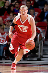 MADISON, WI - OCTOBER 24: Guard Joe Krabbenhoft of the Wisconsin Badgers handles the ball during the red/white scrimmage at the Kohl Center on October 24, 2006 in Madison, Wisconsin. The White team defeated the Red team 72-69. (Photo by David Stluka)