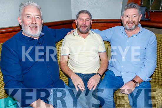 Ready to be shaved for a good cause raising funds for Palliative Care in memory of their good friend Tom Raymond in the Munster Bar on Sunday.<br /> L to r: Martin Keane, Billy Hennessy and Willie Deenihan