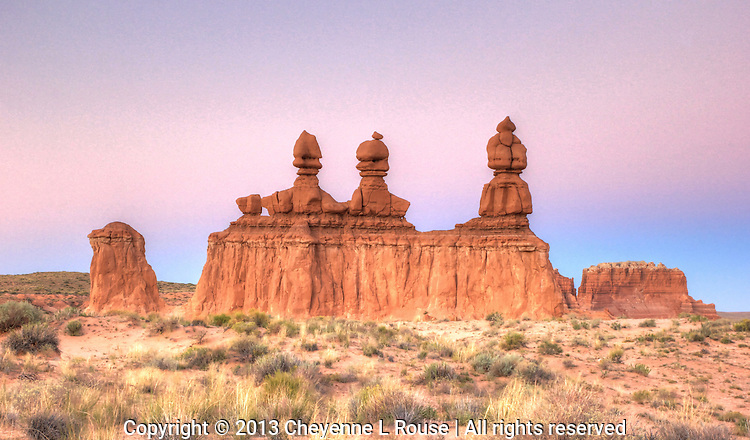 Three Sisters - Goblin Valley SP - Utah