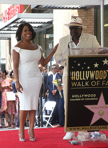 """HOLLYWOOD, CA - JULY 11: Niecy Nash, Cedric """"The Entertainer"""", at Niecy Nash Honored With Star On The Hollywood Walk Of Fame in Hollywood, California on July 11, 2018. Credit: Faye Sadou/MediaPunch"""