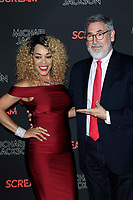 LOS ANGELES - OCT 24: Ola Ray, John Landis at The Estate of Michael Jackson and Sony Music present Michael Jackson Scream Halloween Takeover at TCL Chinese Theatre IMAX on October 24, 2017 in Los Angeles, California