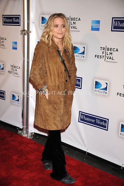 WWW.ACEPIXS.COM . . . . . ....April 22 2009, New York City....Actress Mary-Kate Olsen arriving at the premiere of 'Whatever Works' during the 2009 Tribeca Film Festival at Ziegfeld on April 22, 2009 in New York City.....Please byline: KRISTIN CALLAHAN - ACEPIXS.COM.. . . . . . ..Ace Pictures, Inc:  ..tel: (212) 243 8787 or (646) 769 0430..e-mail: info@acepixs.com..web: http://www.acepixs.com