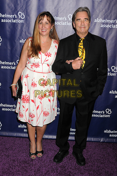 18 March 2015 - Beverly Hills, California - Wendy Treece, Beau Bridges. 23rd Annual &quot;A Night at Sardi's&quot; Benefit for the Alzheimer's Association held at The Beverly Hilton Hotel. <br /> CAP/ADM/BP<br /> &copy;BP/ADM/Capital Pictures