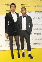 NEW YORK, NY - SEPTEMBER 10: Pharrell Williams and Helen Lasichanh  attends the Yellow Ball at the Brooklyn Museum on September 10, 2018 on September 10, 2018 in Brooklyn, New York. Photo Credit John Palmer/MediaPunch<br /> CAP/MPI/JP<br /> &copy;JP/MPI/Capital Pictures