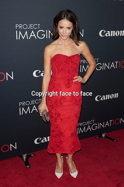 NEW YORK, NY - OCTOBER 24, 2013: Abigail Spencer attends the Premiere Of Canon's Project Imaginat10n Film Festival at Alice Tully Hall on October 24, 2013 in New York City. <br />