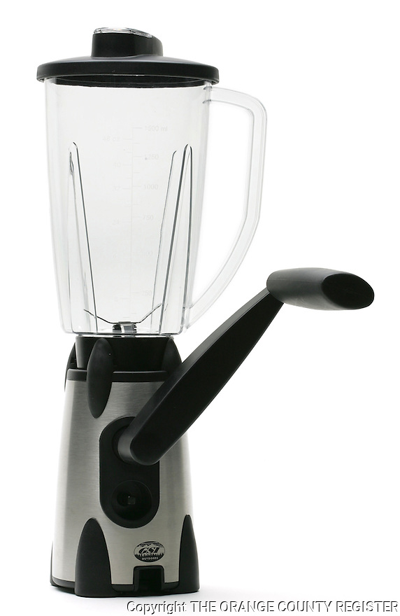 A Vortex hand crank blender by GSI Outdoors - Portfolio only.