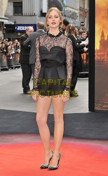 LONDON, ENGLAND - MAY 11: Diana Vickers attends the &quot;Godzilla&quot; UK film premiere, Odeon Leicester Square cinema, Leicester Square, on Sunday May 11, 2014 in London, England, UK.<br /> CAP/CAN<br /> &copy;Can Nguyen/Capital Pictures
