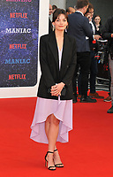 Emma Mackey at the &quot;Maniac&quot; UK TV premiere, Southbank Centre, Belvedere Road, London, England, UK, on Thursday 13 September 2018.<br /> CAP/CAN<br /> &copy;CAN/Capital Pictures