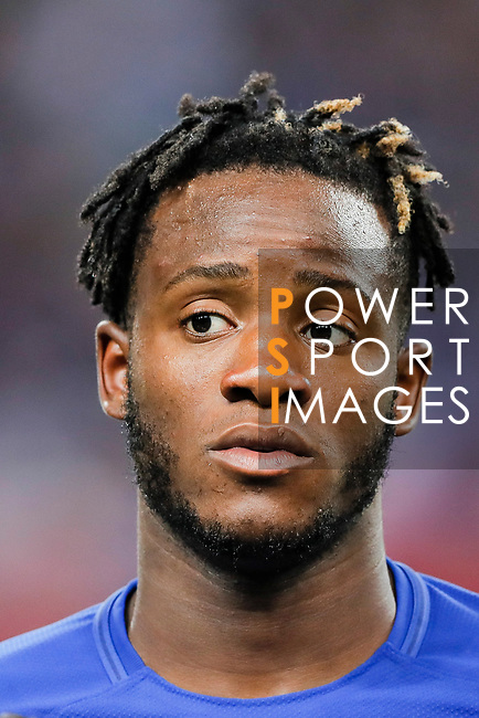 Chelsea Forward Michy Batshuayi during the International Champions Cup match between Chelsea FC and FC Bayern Munich at National Stadium on July 25, 2017 in Singapore. Photo by Marcio Rodrigo Machado / Power Sport Images