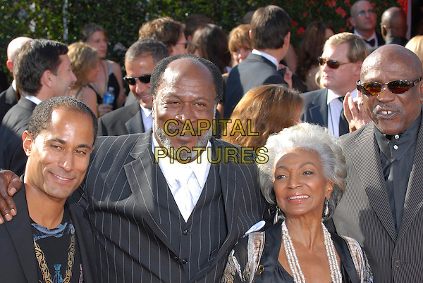 GUEST, JOHN AMOS, NICHELLE NICHOLSS & LOUIS GOSSETT JR..59th Annual Primetime Emmy Awards held at the Shrine Auditorium, Los Angeles, California, USA..September 16th, 2007.headshot portrait beard facial hair  .CAP/ADM/CH.©Charles Harris/AdMedia/Capital Pictures.