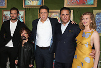 4 October 2018-  Hollywood, California - Jamie Dornan, Peter Dinklage, Sacha Gervasi, Andy Garcia, Mireille Enos, HBO Films' &quot;My Dinner With Herve&quot; Premiere held at Paramount Studios. <br /> CAP/ADM/FS<br /> &copy;FS/ADM/Capital Pictures