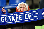 Getafe CF's supporter during UEFA Europa League match. December 12,2019. (ALTERPHOTOS/Acero)