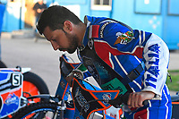 Nicolas Covatti of Poole Pirates during Poole Pirates vs King's Lynn Stars, SGB Premiership Shield Speedway at The Stadium on 11th April 2019