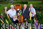 Johnny Wall, Shauna Harris Red Fred, Red Cross mascot, Frank Hayes, Kerry Group and John Griffin, Kerry County Council.