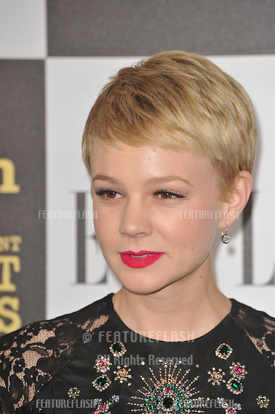 Carey Mulligan at the 25th Anniversary Film Independent Spirit Awards at the L.A. Live Event Deck in downtown Los Angeles..March 5, 2010  Los Angeles, CA.Picture: Paul Smith / Featureflash