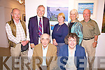 SOLSTICE: From North Kerry to Waterville they came for the Fe?ile na Gre?ine Solstice Arts Festival, pictured here before the Monday night show 'Celebrating the Sun' on June 21st were front l-r: Tom Horgan, Gabriel Fitzmaurice. Back l-r: Paddy Collins, Batt Burns, Maura Burns, Mary & Phil Hanrahan.