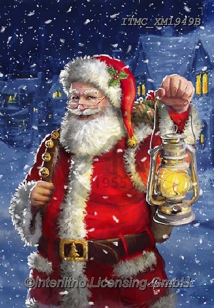 Marcello, CHRISTMAS SANTA, SNOWMAN, WEIHNACHTSMÄNNER, SCHNEEMÄNNER, PAPÁ NOEL, MUÑECOS DE NIEVE, paintings+++++,ITMCXM1949B,#x#