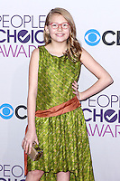 LOS ANGELES, CA - JANUARY 09: Bebe Wood arrives at the 39th Annual People's Choice Awards held at Nokia Theatre L.A. Live on January 9, 2013 in Los Angeles, California.  Credit: MediaPunch Inc. /NORTEPHOTO