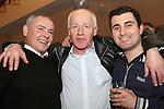 Jimmy Downey with Paul Murray and Craig Donnelly at his 40th in The Thatch...Photo NEWSFILE/Jenny Matthews.(Photo credit should read Jenny Matthews/NEWSFILE)....This Picture has been sent you under the condtions enclosed by:.Newsfile Ltd..The Studio,.Millmount Abbey,.Drogheda,.Co Meath..Ireland..Tel: +353(0)41-9871240.Fax: +353(0)41-9871260.GSM: +353(0)86-2500958.email: pictures@newsfile.ie.www.newsfile.ie.FTP: 193.120.102.198.
