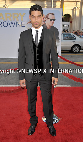 """WILMER VALDERRAMA.attends the World Premiere of """"Larry Crowne"""" at the Grauman's Chinese Theatre, Hollywood, Los Angeles, California_27/06/2011.Mandatory Photo Credit: ©Crosby/Newspix International. .**ALL FEES PAYABLE TO: """"NEWSPIX INTERNATIONAL""""**..PHOTO CREDIT MANDATORY!!: NEWSPIX INTERNATIONAL(Failure to credit will incur a surcharge of 100% of reproduction fees).IMMEDIATE CONFIRMATION OF USAGE REQUIRED:.Newspix International, 31 Chinnery Hill, Bishop's Stortford, ENGLAND CM23 3PS.Tel:+441279 324672  ; Fax: +441279656877.Mobile:  0777568 1153.e-mail: info@newspixinternational.co.uk"""