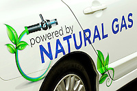Piedmont Natural Gas operates several natural-gas powered service trucks and vehicles. The company has plans to have 25 percent of its fleet run on natural gas. Piedmont Natural Gas says natural gas vehicles have lower emissions and cost less to power.
