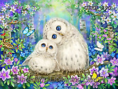 Kayomi, CUTE ANIMALS, LUSTIGE TIERE, ANIMALITOS DIVERTIDOS, paintings+++++,USKH290,#ac#, EVERYDAY