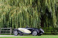 BNPS.co.uk (01202 558833)<br /> Pic: Bonhams/BNPS<br /> <br /> The 1932 car could hit 60mph in 13 seconds. <br /> <br /> A classic car bought by a British motoring enthusiast for £750 before it was nearly written off by a drunk driver has sold for £3.8m.<br />  <br /> The 1932 Bugatti Type 55 roadster belonged to the late Geoffrey St John for over 50 years until his death last February.<br /> <br /> In 1994 he was badly injured when the motor was ploughed into by a drunk driver in France.<br /> <br /> Luckily the car - then valued at about £1m - could be salvaged and repaired.