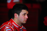 Feb 13, 2008; Daytona Beach, FL, USA; Nascar Sprint Cup Series driver Reed Sorenson during practice for the Daytona 500 at Daytona International Speedway. Mandatory Credit: Mark J. Rebilas-US PRESSWIRE