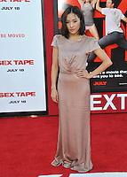 Constance Wu at the world premiere of &quot;Sex Tape&quot; at the Regency Village Theatre, Westwood.<br /> July 10, 2014  Los Angeles, CA<br /> Picture: Paul Smith / Featureflash