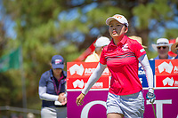 Wei-Ling Hsu (TWN) during the third round of the ISPS Handa Women&rsquo;s Australian Open, The Grange Golf Club, Adelaide SA 5022, Australia, on Saturday 16th February 2019.<br /> <br /> Picture: Golffile | David Brand<br /> <br /> <br /> All photo usage must carry mandatory copyright credit (&copy; Golffile | David Brand)