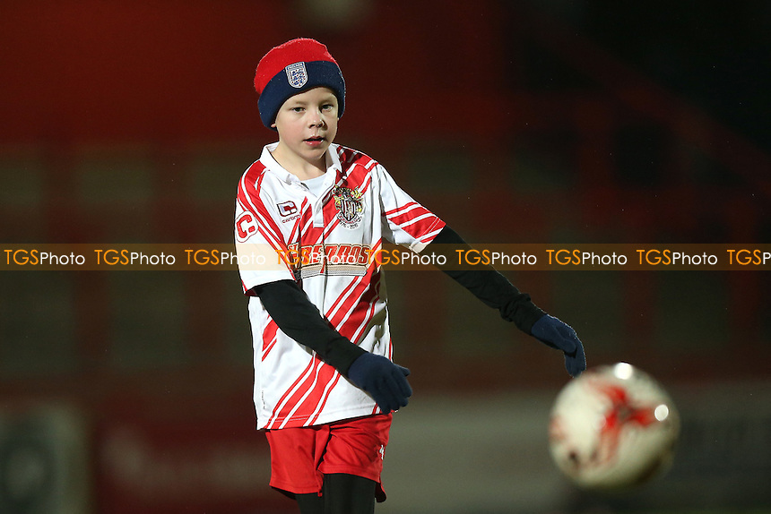 Stevenage mascot during Stevenage vs Leyton Orient, Sky Bet EFL League 2 Football at the Lamex Stadium on 28th February 2017