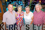 Rebels in the Kingdom for the Country Music Festival  in Ballybunnion last Saturday night in the Golf Hotel was l-r: Mick and Mary Coleman from Freemount with Nora and Donie O'Keeffe from Newmarket.