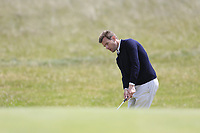 James Gerrard Fox (Portmarnock) during the 1st round of the East of Ireland championship, Co Louth Golf Club, Baltray, Co Louth, Ireland. 02/06/2017<br /> Picture: Golffile | Fran Caffrey<br /> <br /> <br /> All photo usage must carry mandatory copyright credit (&copy; Golffile | Fran Caffrey)