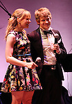 Celia Keenan-Bolger & Andrew Keenan-Bolger attends the American Theatre Wing's annual gala at the Plaza Hotel on Monday Sept. 24, 2012 in New York.