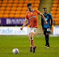 Blackpool's Paudie O'Connor<br /> <br /> Photographer Alex Dodd/CameraSport<br /> <br /> The EFL Checkatrade Trophy Northern Group C - Blackpool v West Bromwich Albion U21 - Tuesday 9th October 2018 - Bloomfield Road - Blackpool<br />  <br /> World Copyright &copy; 2018 CameraSport. All rights reserved. 43 Linden Ave. Countesthorpe. Leicester. England. LE8 5PG - Tel: +44 (0) 116 277 4147 - admin@camerasport.com - www.camerasport.com