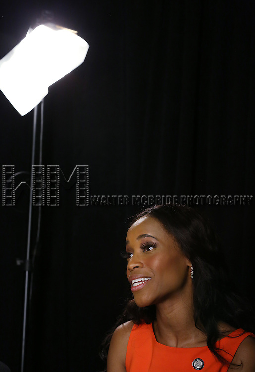 Valisia LeKae  'In The Spotlight' at the 2013 Tony Awards Meet The Nominees Junket  at the Millennium Broadway Hotel in New York on 5/1/2013...