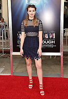 WESTWOOD, CA - APRIL 11: Ali Skovbye attends the premiere of 20th Century Fox's 'Breakthrough' at Westwood Regency Theater on April 11, 2019 in Los Angeles, California.<br /> CAP/ROT/TM<br /> &copy;TM/ROT/Capital Pictures