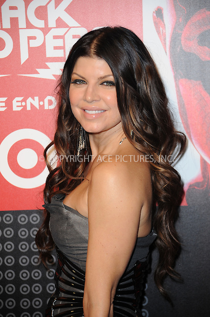 WWW.ACEPIXS.COM . . . . . ....June 10 2009, New York City....Singer Fergie arriving at the Black Eyed Peas album release party hosted by Target at The Griffin on June 10, 2009 in New York City.....Please byline: KRISTIN CALLAHAN - ACEPIXS.COM.. . . . . . ..Ace Pictures, Inc:  ..tel: (212) 243 8787 or (646) 769 0430..e-mail: info@acepixs.com..web: http://www.acepixs.com