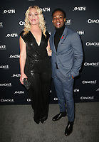 07 March 2018 - Culver City, California - Elisabeth Rohm, Arlen Escarpeta. &quot;The Oath&quot; TV Series Los Angeles Premiere held at Sony Pictures Studios.   <br /> CAP/ADM/FS<br /> &copy;FS/ADM/Capital Pictures