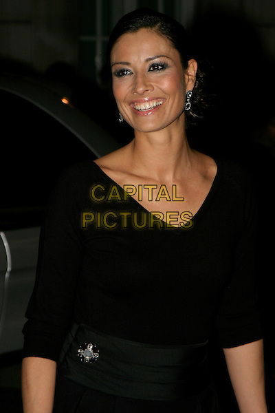 MELANIE SYKES.A Gala Screening of George Michael: A Different Story at Curzon Mayfair Cinema,, London, UK..December 5th, 2005.Ref: AH.half length brooch black.www.capitalpictures.com.sales@capitalpictures.com.© Capital Pictures.