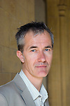Geoff Dyer at Christ Church during the Sunday Times Oxford Literary Festival, UK, 2-10 April 2011.<br />