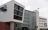 Pictured: The Cardiff Campus of the University of South Wales in Cardiff, known as the Atrium. STOCK PICTURE<br /> Re: A hard-up university was under fire yesterday for employing a Professor of Storytelling at more than &pound;1,000-a-week.  <br /> Conservative MP David Davies said the job showed university chiefs are living in &quot;cloud cuckoo land&quot;. <br /> The &pound;63k-a-year position at the University of South Wales in Cardiff is described as an &quot;academic role&quot;.<br /> But Mr Davies called on the university to scrap the post and leave storytelling to Britain's world-renowned authors like Dickens and J K Rowling.<br /> He said: &quot;The University of South Wales is forever bleating about the fact they've got no money.<br /> &quot;How can they afford to fund a &pound;60k plus job to sit around reading Janet and John books?<br /> &quot;Storytelling is for primary school children - not for university students.&quot;<br /> The advertisement states: &quot;We welcome applications from individuals with international standing and expertise in any area of storytelling.&quot;